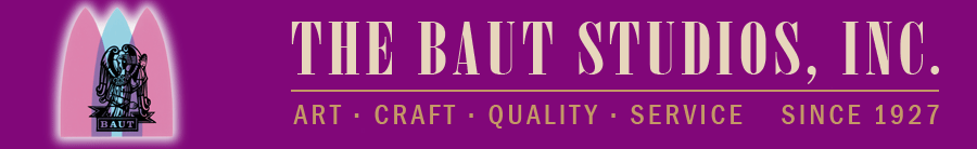 Baut Studios, Inc. logo - Art, Craft, Quality, Service