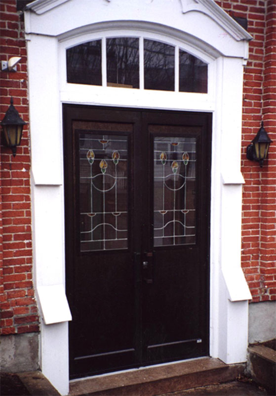 Church Replacement Doors Traditional Leaded Glass Doors By The Baut